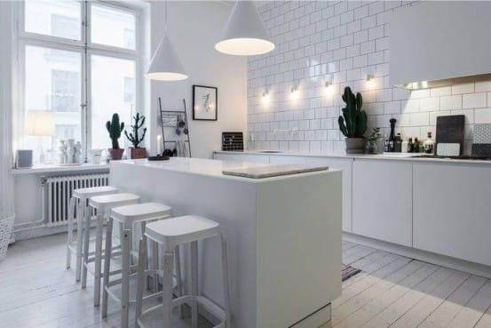Come distribuire la luce in cucina. illuminazione in cucina come
