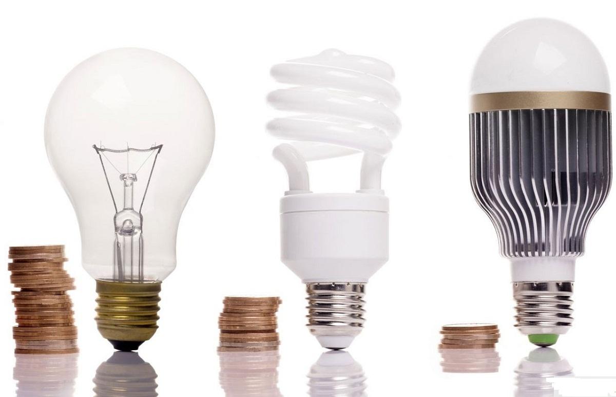 Tabella di confronto della potenza della lampada a risparmio